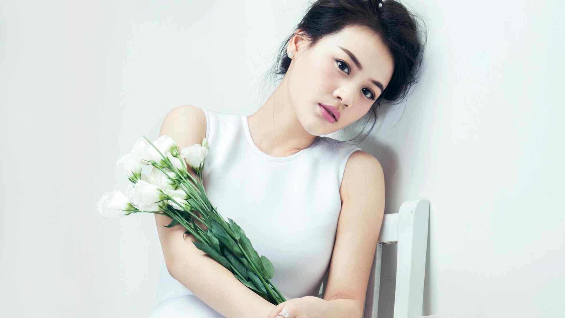 马思纯时尚杂志写真高清壁纸