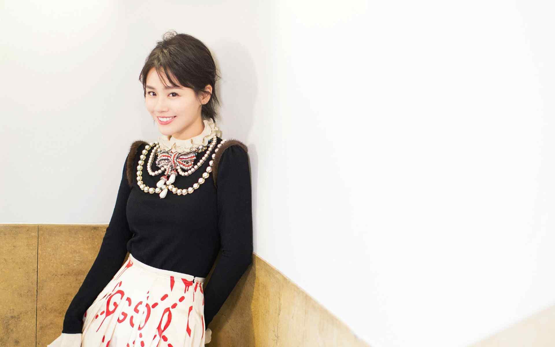马思纯时装周时尚写真高清壁纸