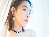 阚清子清新性感写真短发图片