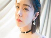 美女模特阚清子清新唯美短发图片写真