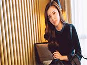 美女明星宋妍霏甜美清新写真高清壁纸