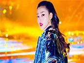 张天爱酷炫嘻哈风浓妆写真高清壁纸图片
