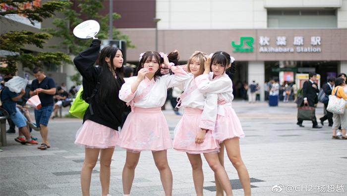 杨超越CH2女团成员高清壁纸图片