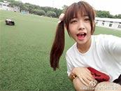賴美雲(yun)足(zu)球場(chang)賣萌唯美高清壁紙圖片