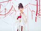 賴美雲(yun)紅白(bai)漢服唯美高清寫真壁紙圖片