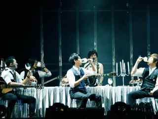五月天Just Rock It演唱会上海站桌面壁纸