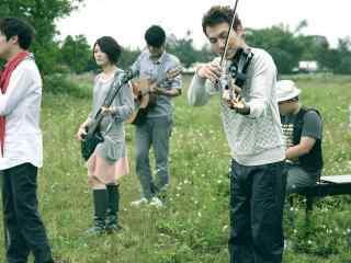 苏打绿乐队草坪演唱图片桌面壁纸