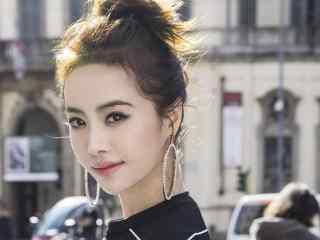 蔡依林时尚街拍写真桌面壁纸