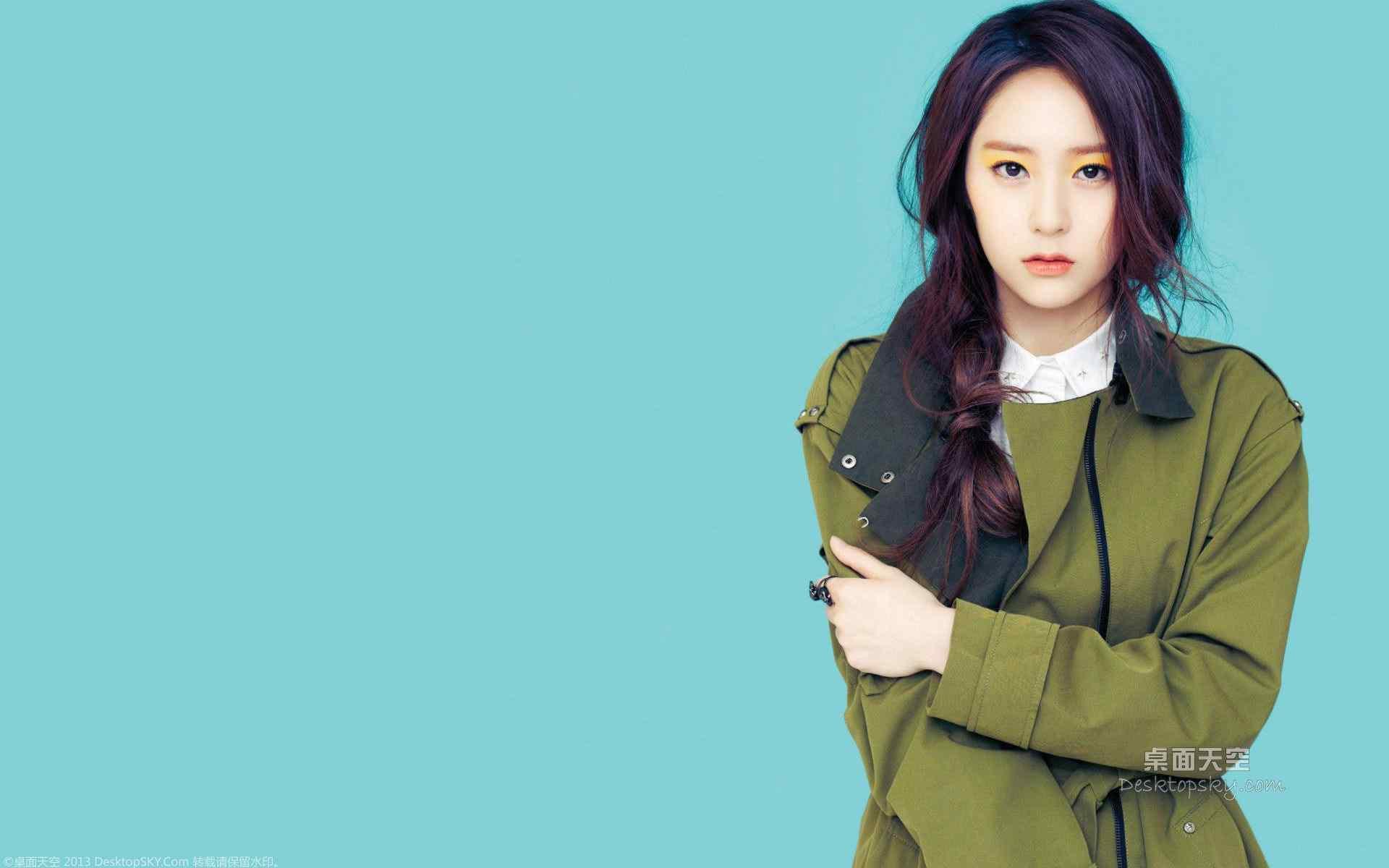 韩国女星郑秀晶时尚壁纸