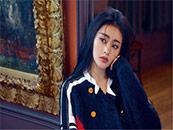 张天爱时尚杂志封面性感唯美写真壁纸图片