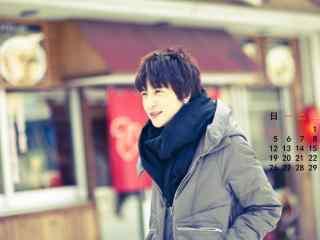 内地歌手薛之谦日历桌面壁纸下载
