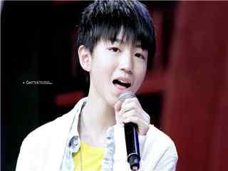 王俊凯参加综艺节目天天向上桌面壁纸