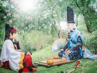 cosplay之阴阳师安培晴明与源博雅下棋