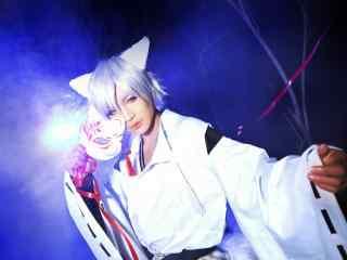 妖狐×仆SS之cosplay御狐神双炽桌面壁纸