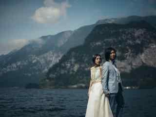 五月天玛莎之唯美婚纱照桌面壁纸
