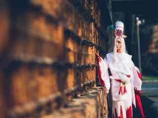 阴阳师式神cosplay之鬼使白桌面壁纸