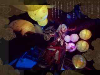 阴阳师帅哥cosplaySSR式神茨木童子桌面壁纸