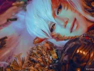 阴阳师茨木童子帅气cosplay桌面壁纸