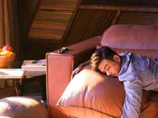 杨烁温暖睡颜高清桌面壁纸