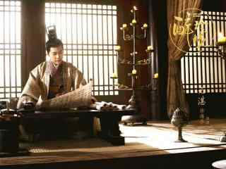 醉玲珑电视剧徐海乔看书剧照壁纸