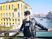 张丹峰水城威尼斯写真高清图片壁纸