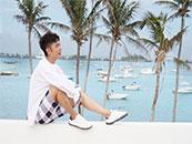 张丹峰海边时尚写真高清图片壁纸