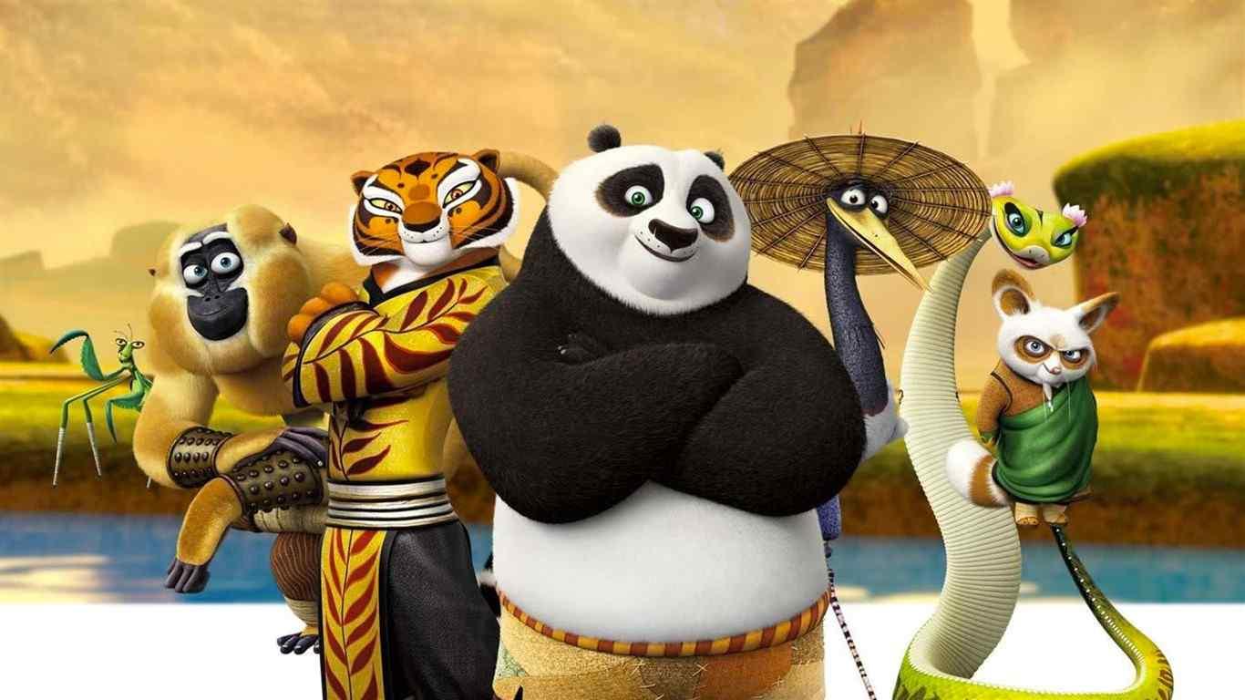 《功夫熊猫3》剧照图片电脑桌面壁纸