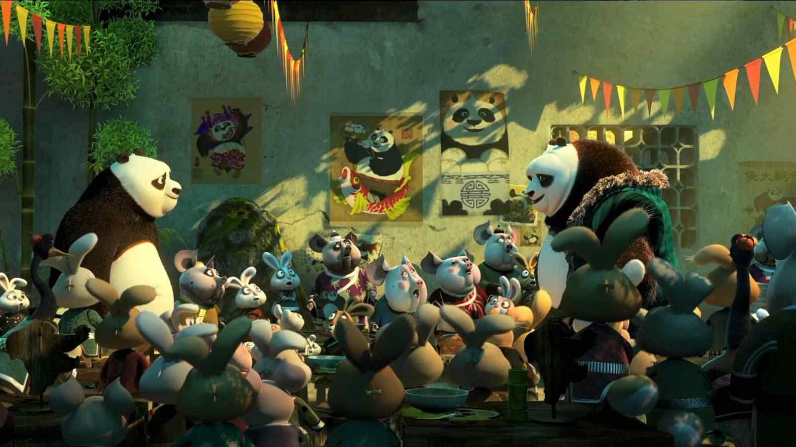 《功夫熊猫3》海报高清桌面壁纸