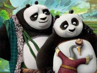 《功夫熊猫3》电脑桌面壁纸