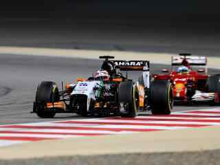 F1挑战竞速瞬间高