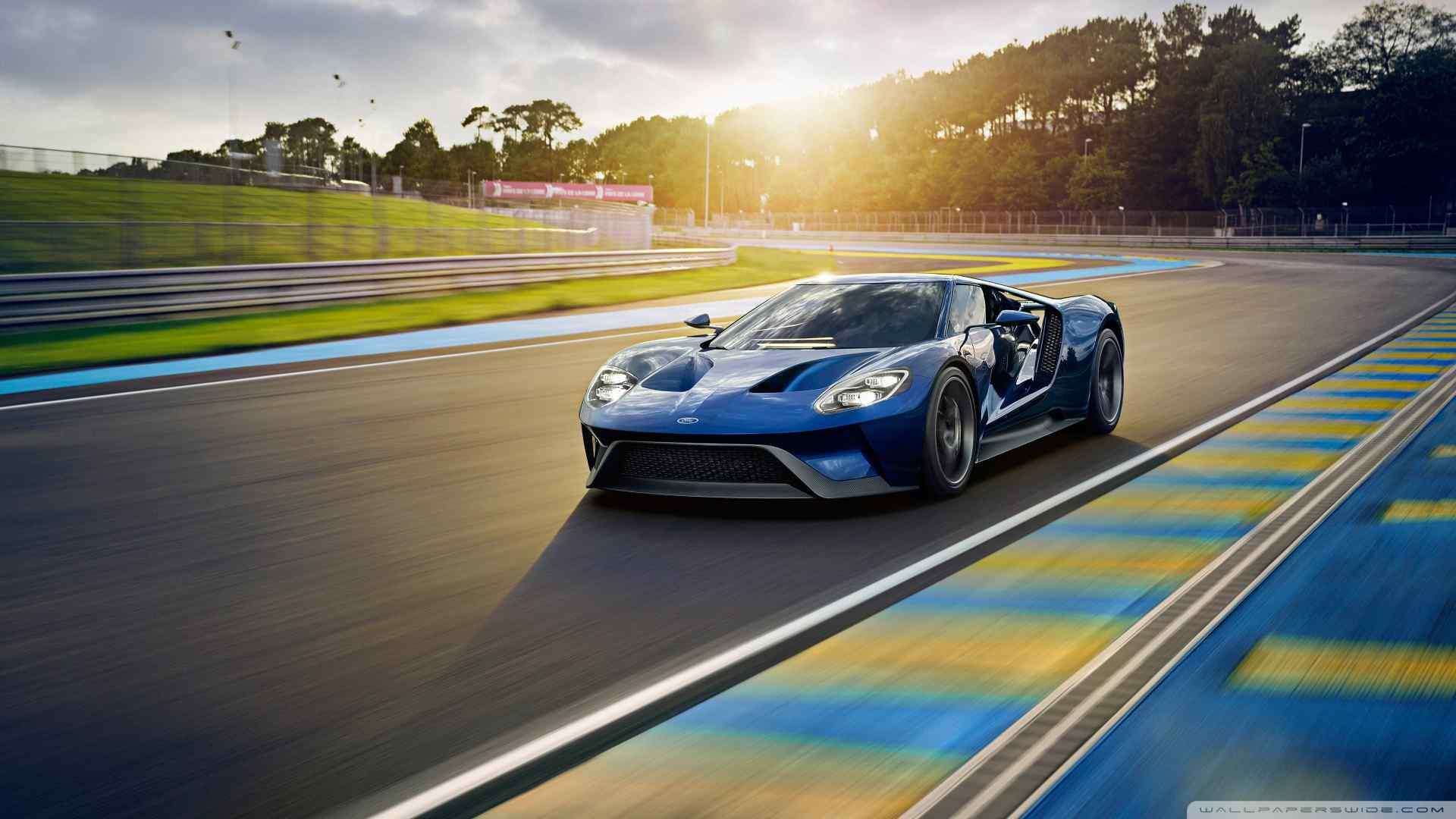 福特GT跑车壁纸
