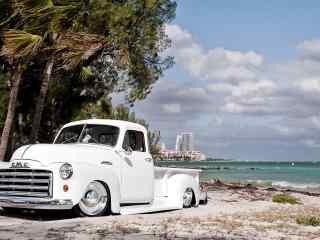 复古汽车GMC经典