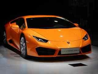 炫酷橙色法拉利跑车桌面壁纸
