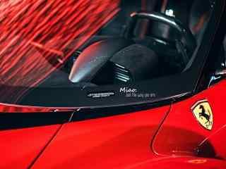 法拉利红色车头桌