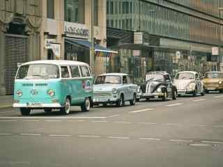 """大众汽车街头""""编年史""""摄影壁纸"""
