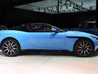 蓝色阿斯顿·马丁惟·美汽车壁纸