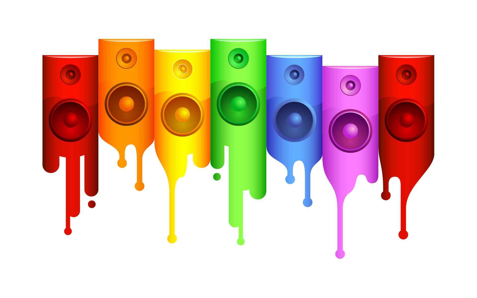 色彩斑斓艺术桌面壁纸