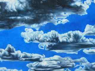 油画艺术桌面壁纸