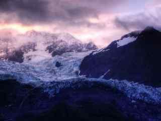 雪山风景图片高清