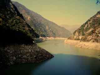 唯美的汉江美景图