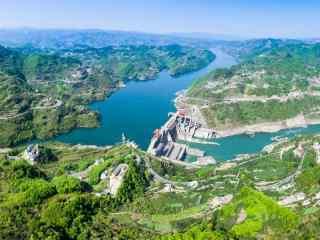 清新唯美的汉江风景图片