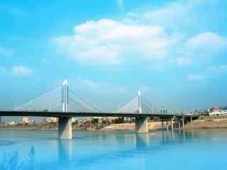 好看的汉江风景图片壁纸
