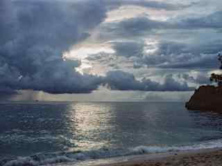 菲律宾长滩岛大气磅礴的风景壁纸