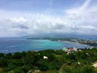 菲律宾长滩岛阳光风景图片