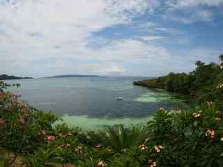 菲律宾长滩岛绿色风景图片