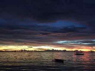 菲律宾长滩岛创意风光壁纸