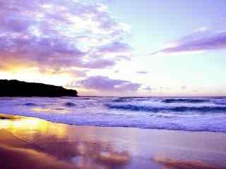唯美大海与天空高清桌面壁纸