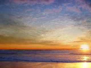大海与天空唯美高清壁纸