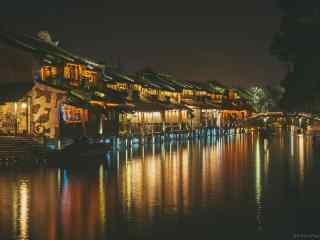 唯美的乌镇夜景桌面壁纸图集
