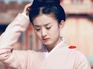 赵丽颖陆贞传奇可爱剧照壁纸
